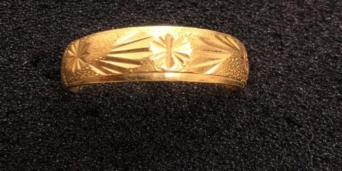 立榮當舖-流當黃金戒指